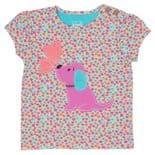 Kite T-shirt short sleeved Baby Girl Puppy Pals