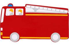 Lanka Kade Fire Engine Plaque red
