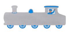 Lanka Kade Train Plaque long siver