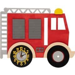 Little Timbers Fire Engine Clock