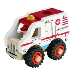 Magni wooden Ambulance