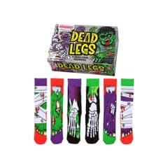 Oddsocks Dead Legs 6 odd socks (not pairs) for men