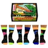 Oddsocks Dinosocks 6 odd socks (not pairs) for men