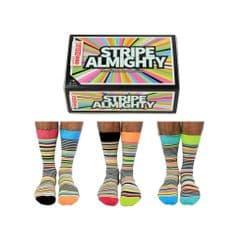 Oddsocks Stripe Almighty 6 odd socks (not pairs) for men