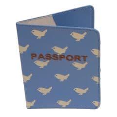 Quintessential Passport holder in birdadot design