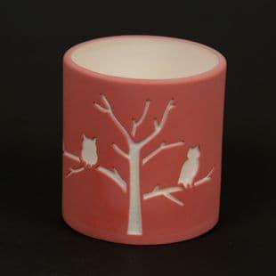 STYLYS Porcelain Tealight holder Forest design