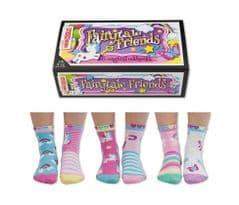 United Oddsocks Fairytale Friends 6 odd socks (not pairs)