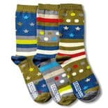 United Oddsocks Fly - pack of 3 boy's odd socks (not pairs).