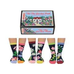 United Oddsocks Up The Garden Path 6 odd socks (not pairs)