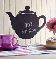 Wallies Chalkboard Accents Teapot