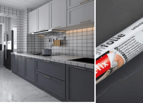 d-c-fix Anthracite Grey Self Adhesive Contact