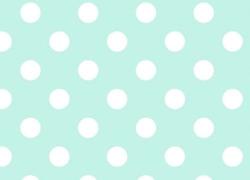 Duck Egg Dotty Food Safe Wipe Clean Tablecloth