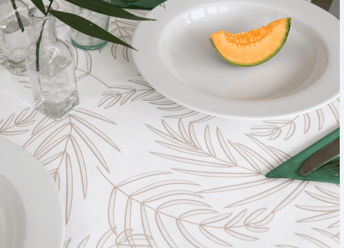 Sina Deluxe Food Safe Wipe Clean Tablecloth