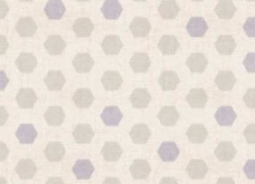 Soft Hexagon Food Safe Wipe Clean Tablecloth