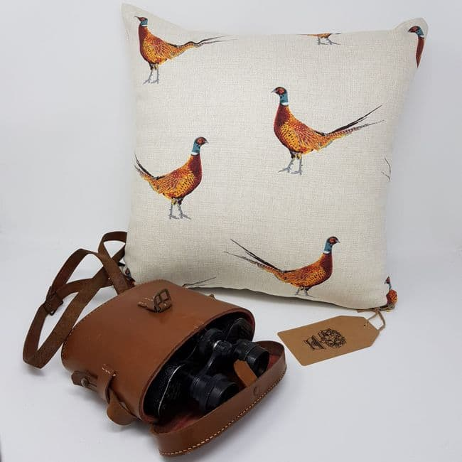 Country Pheasant Game Bird cushion cover makes ideal gift for country sports enthusiast