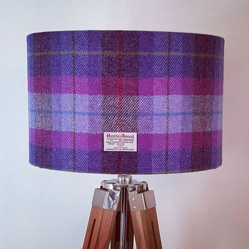 LAMPSHADES  made or recovered to order various sizes available choose from any of our Harris Tweeds