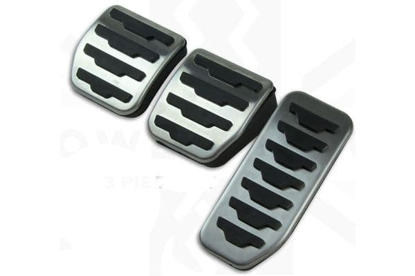 F Pace Foot Pedal Covers (Manual)