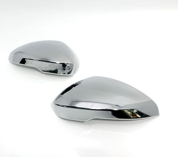 F-Type Chrome Mirror Covers