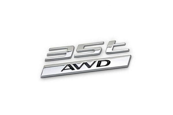 Jaguar 35t AWD Badge