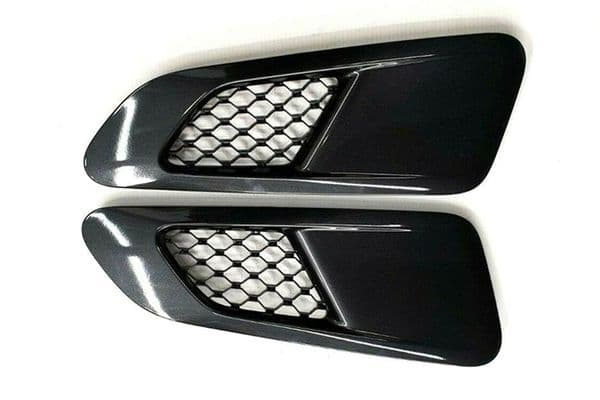 Jaguar All Wheel Drive F-Type Supercharged Bonnet Vents In Stratus Grey