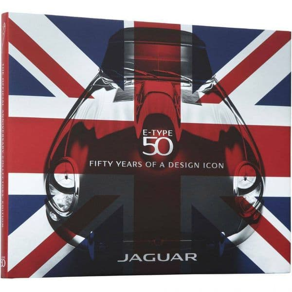 Jaguar Collection Genuine Heritage E-Type 50 Year Anniversary Book