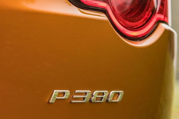 Jaguar P380 Badge