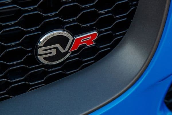 Jaguar SVR Grille Badge