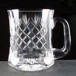 Crystal One Pint  Personalised Waisted Tankard ref CCWT