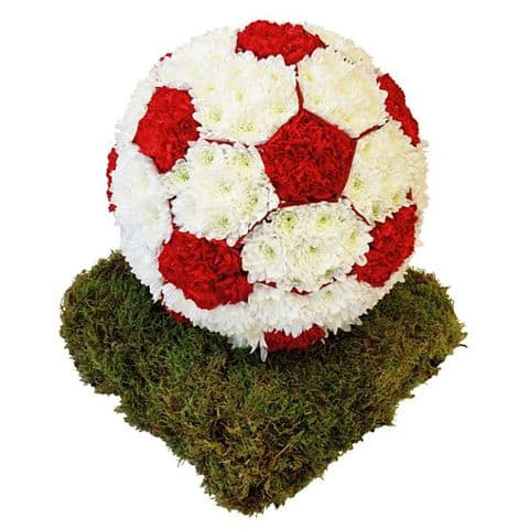 3D Funeral Football Tribute