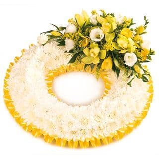 Based Funeral Wreath