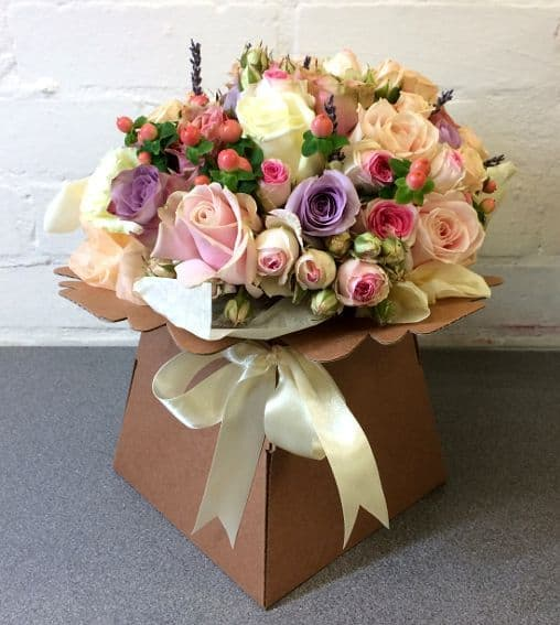 Country Rose Bouquet Blossom Florists for Essex flower delivery