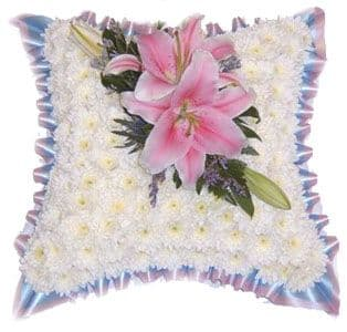 Funeral Flowers Cushions