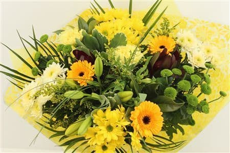 Lovely Yellow Bouquet