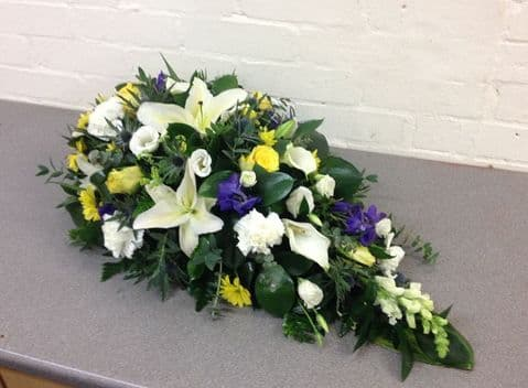 Spring Single Ended funeral Spray