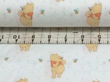 CAMELOT FABRICS    DISNEY  WINNIE THE POOH   QUILTING DRESSMAKING  100% COTTON..... £10.99 PER YARD