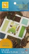 EZ Quilting - Template Sheet<br>Pine Tree