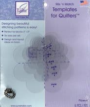 JUNE TAILOR TEMPLATES FLOWERS ONLY £4.99