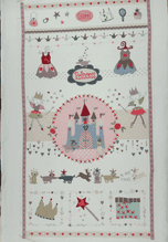 QUILT PANEL PRINCESS   BY STOF QUILTING AND PATCHWORK 100% COTTON FABRIC  ONLY   ONLY £5.90