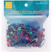 Simplicity 200 Piece  EZ Quilting  Basting Bright's  Fee P+P  Border Binding  Offer  Safety  Pins