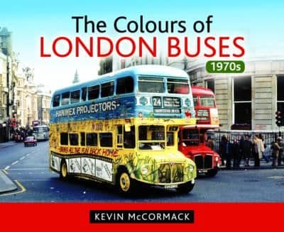 COLOURS OF LONDON BUSES 1970's