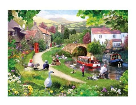 Gibsons Life In The Slow Lane 1000 Piece Jigsaw Puzzle