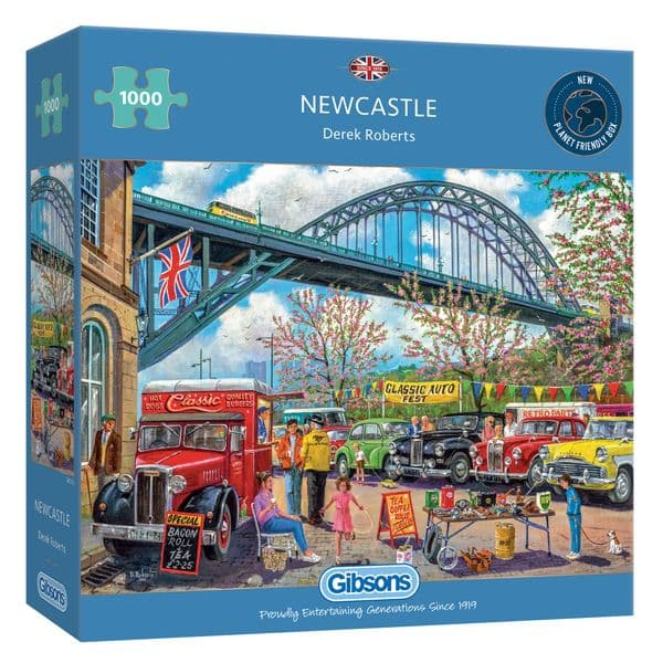 Gibsons Newcastle 1000 Piece Jigsaw Puzzle