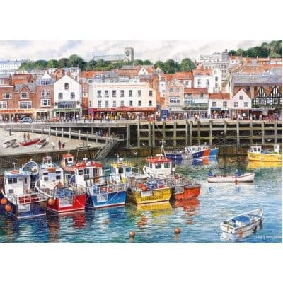 Gibsons Scarborough 1000 Piece Jigsaw Puzzle