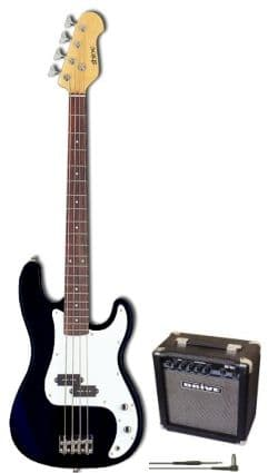 Basic Electric Bass Guitar Package