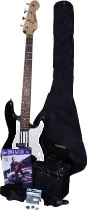 Full Electric Bass Guitar Package
