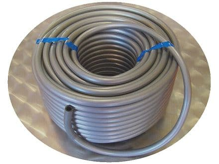 6mm I.D. Plastic Silver Grey Tubing For Mechanical Organ Building (1)