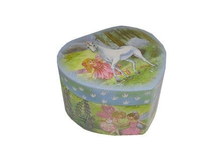 Childrens Musical Jewellery Box Unicorn Design 22111