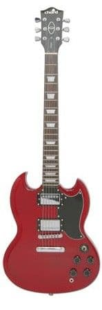 Chord SG Style Electric Guitar Wine Red 174.444