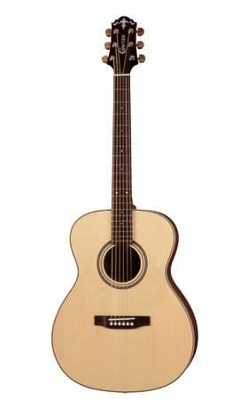 UK Guitar Shop, electric, acoustic and bass guitars, Crafter Steel Strung Acoustic Guitar TV-200.