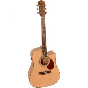 Freshman FA1CEM Dreadnaught Cutaway Electro-Acoustic Natural